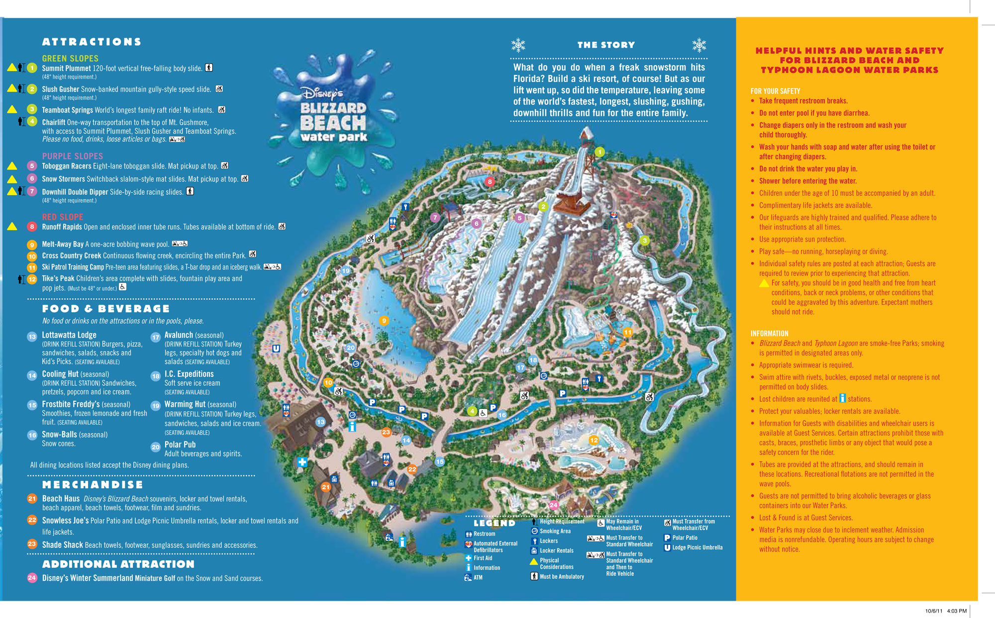 walt disney world guide maps